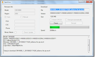 SamFirm-Samsung Firmware Downloader Tool Latest Version Free Download For All Samsung Devices