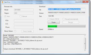 SamFirm-Samsung Firmware Downloader Tool Latest Version Free