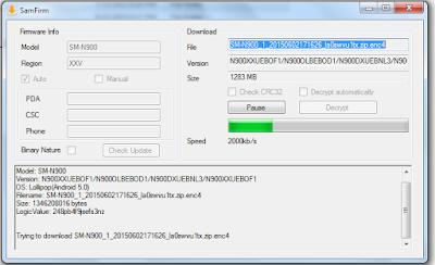 samfirm-samsung-firmware-downloader-tool