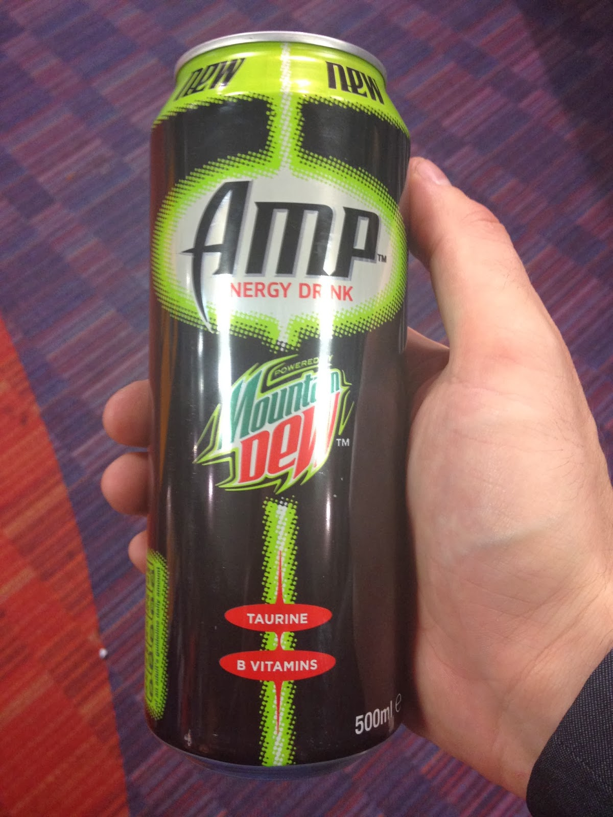 Amp Energy Drink Review