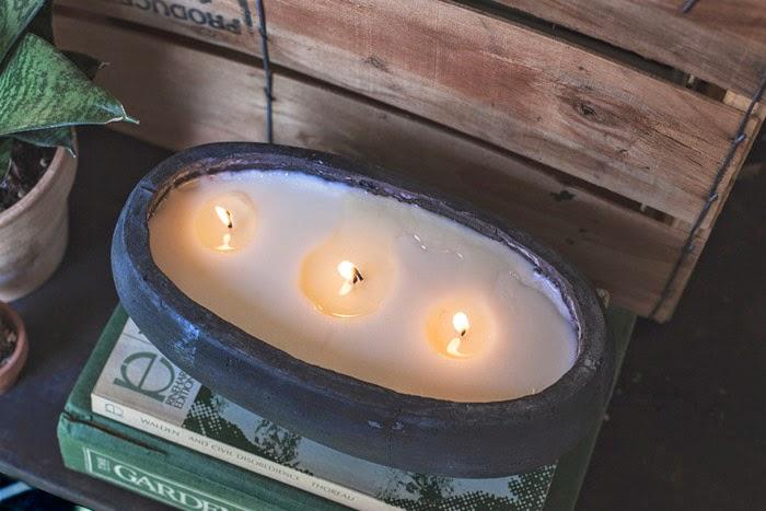 Diy Natural Citronella Candle Poppytalk