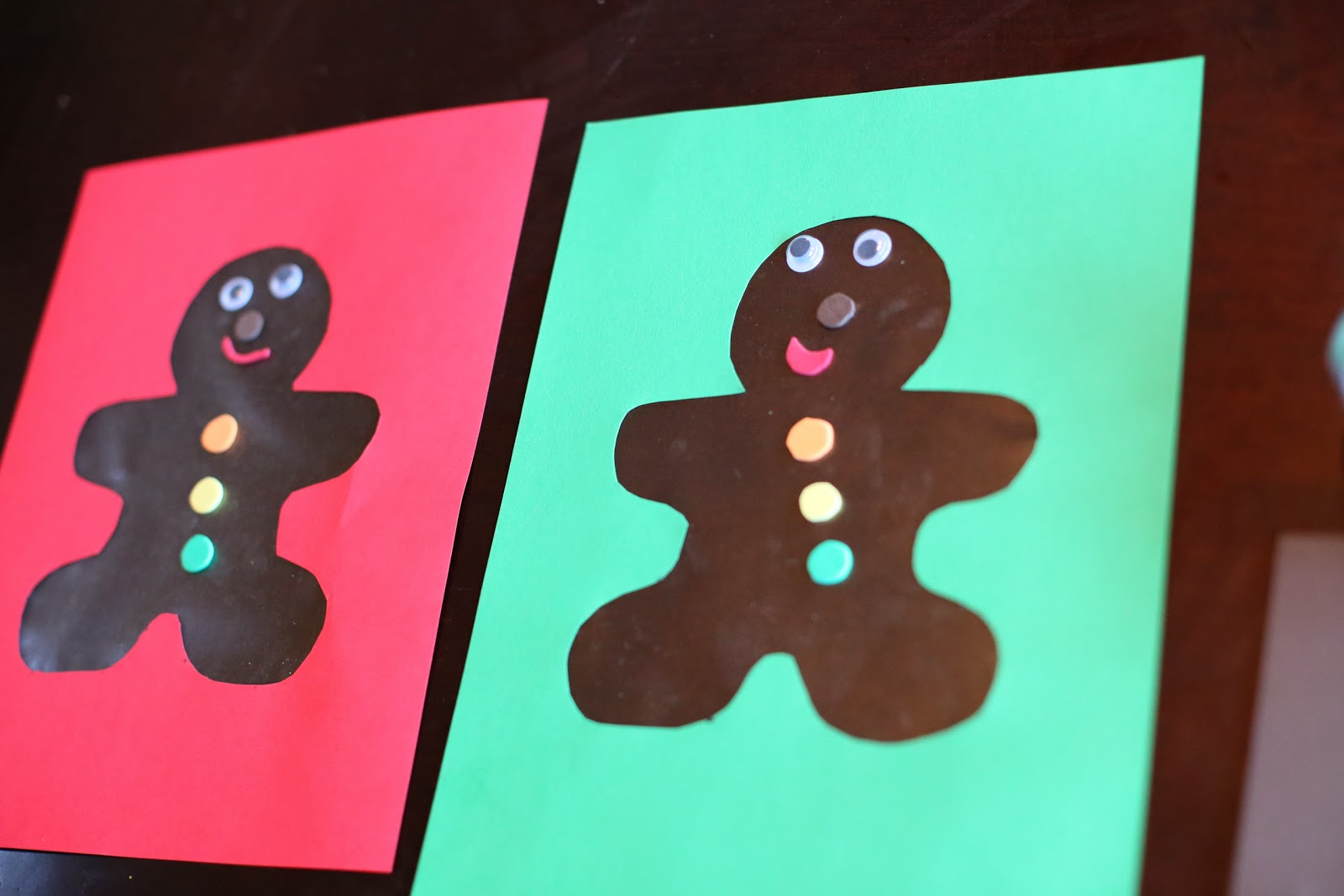 christmas craft for kids scented gingerbread man art from fun at home with kids