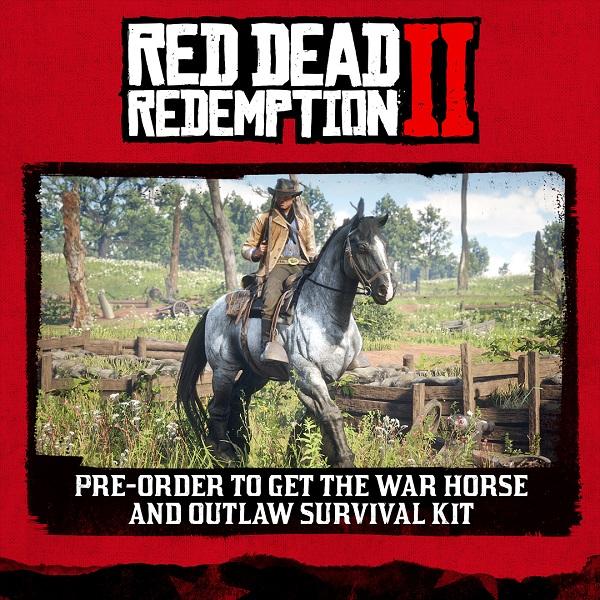 Pre-order Red Dead Redemption 2