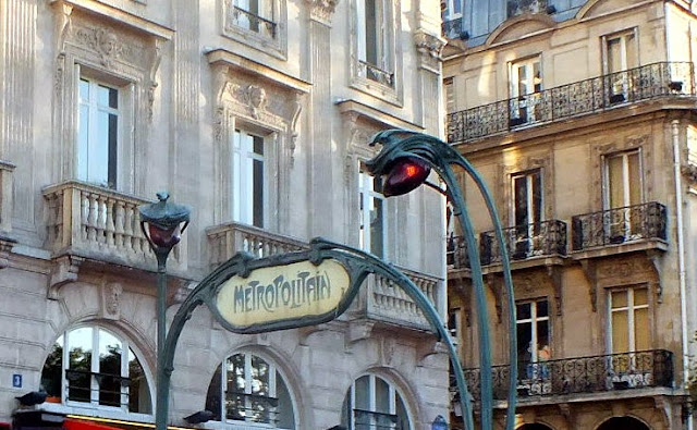 estaciones de metro París