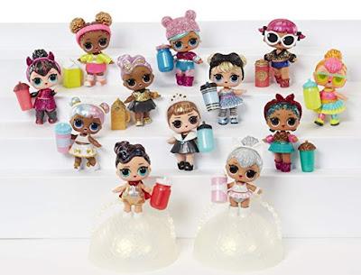Полная коллекция LOL Surprise из серии Glam Glitter розовые шарики