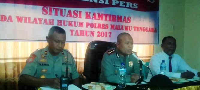 Situasi Kamtibmas pasca bentrok antara Desa Elat dan Desa Waur Kecamatan Kei Besar, Kabupaten Maluku Tenggara hingga saat ini relatif aman dan kondusif.
