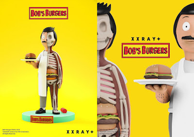 New York Comic Con 2018 Exclusive Bob's Burgers Bob Belcher XXRAY Vinyl Figure by Jason Freeny x Mighty Jaxx x FYE