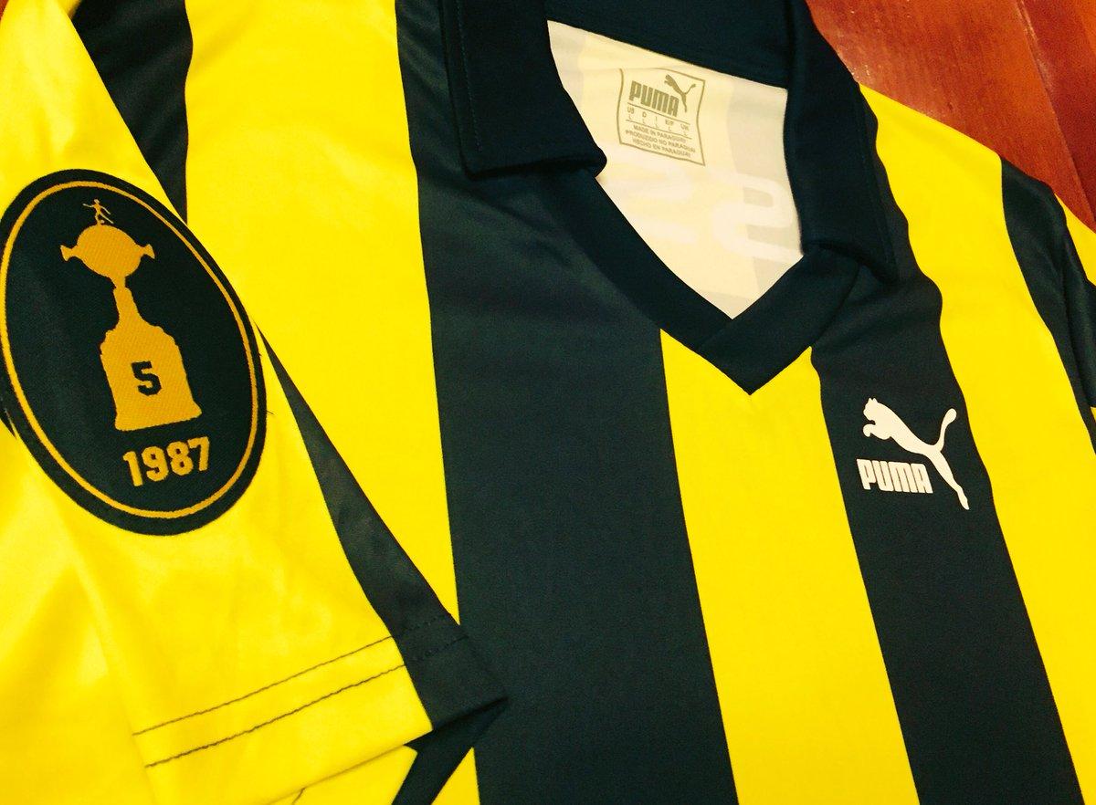 b80cd1e1f9 Peñarol lança camisa comemorativa ao título da Libertadores - Show ...