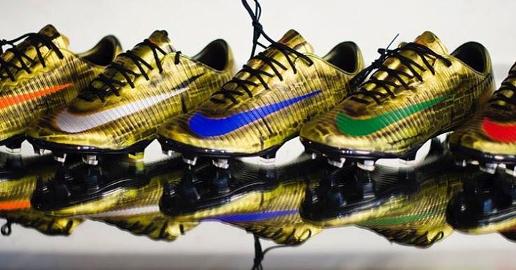 9a950837b87 FTH  Insane Gold Nike Mercurial Vapor XI Boots