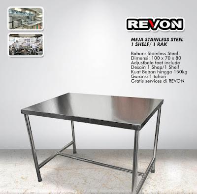 Jual Meja Dapur Stainless Steel di Pakalongan