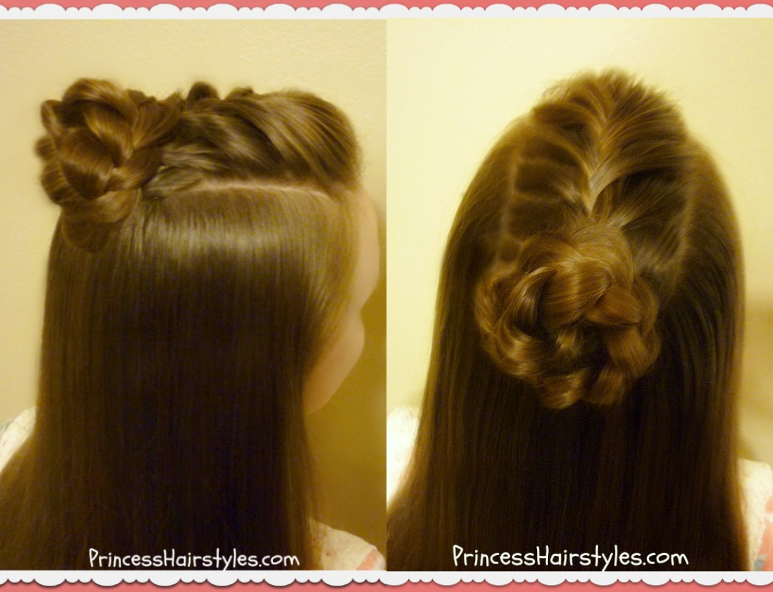 4 Cute Top Knot Hairstyles Half Up Bun Tutorials Hairstyles For