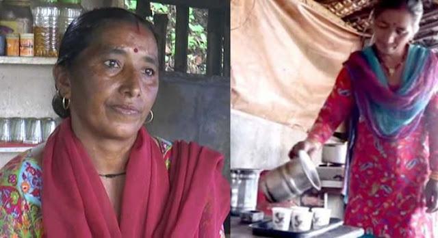 मिसाल: आज भी मंदिर के सामने चाय-बिस्कुट बेचती हैं सबसे बड़े प्रदेश के मुख्यमंत्री की बहन