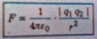 कूलाम का नियम (Coulomb's Law)