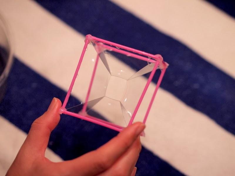 Make a square bubble