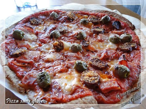 Pizza sans gluten : ma pâte à pizza