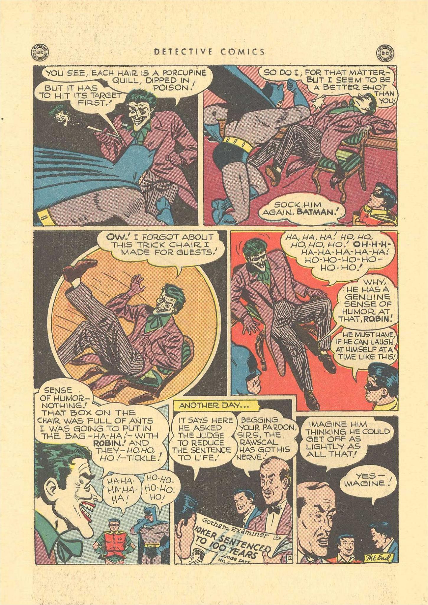 Read online Detective Comics (1937) comic -  Issue #109 - 14