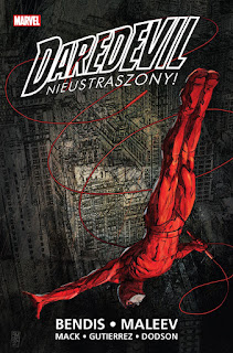 Daredevil tom 1: Nieustraszony! okładka