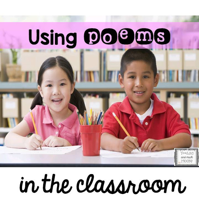 poems in the classroom, poetry units, elementary poems for a year