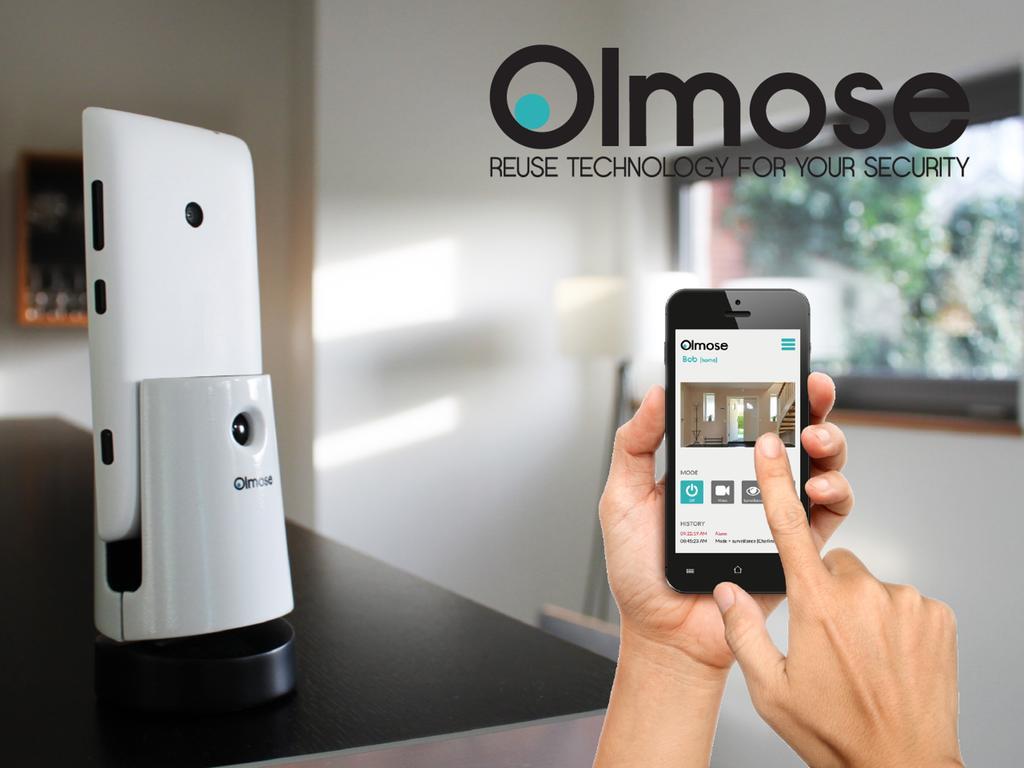 camera wifi surveillance smartphone