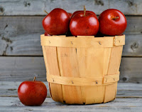 Basket with apples weighing more!