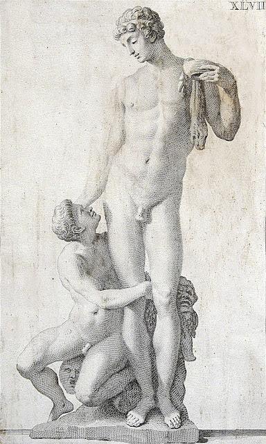 Giovanni Domenico Campiglia: Bacco e Ampelo