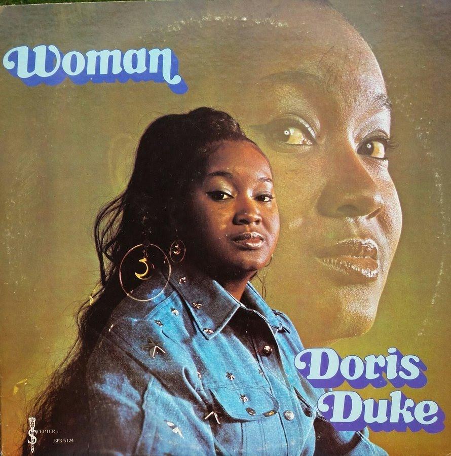 ドリス・デュークのアルバム『Woman』のジャケット