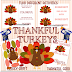 Thankful Turkeys - Serving Others