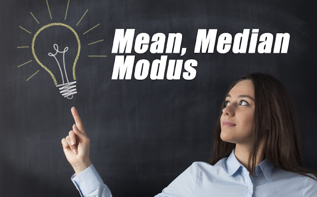 Pengertian Nilai sentral yakni suatu sifat yang sanggup mewakili atau bersifat representati Mean, Median, dan Modus (Pengertian, Rumus, Contoh Soal dan Penyelesaiannya) LENGKAP