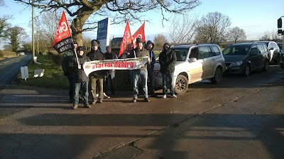 SUPPORT GMB WATER WORKERS STRIKE AGAINST CUTS TO PENSION SCHEME