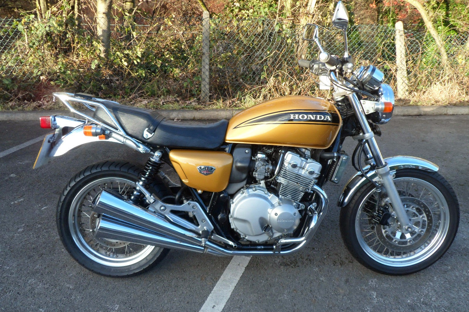 Gold colour CB400 Four NC36 for sale in England!   Fab Four