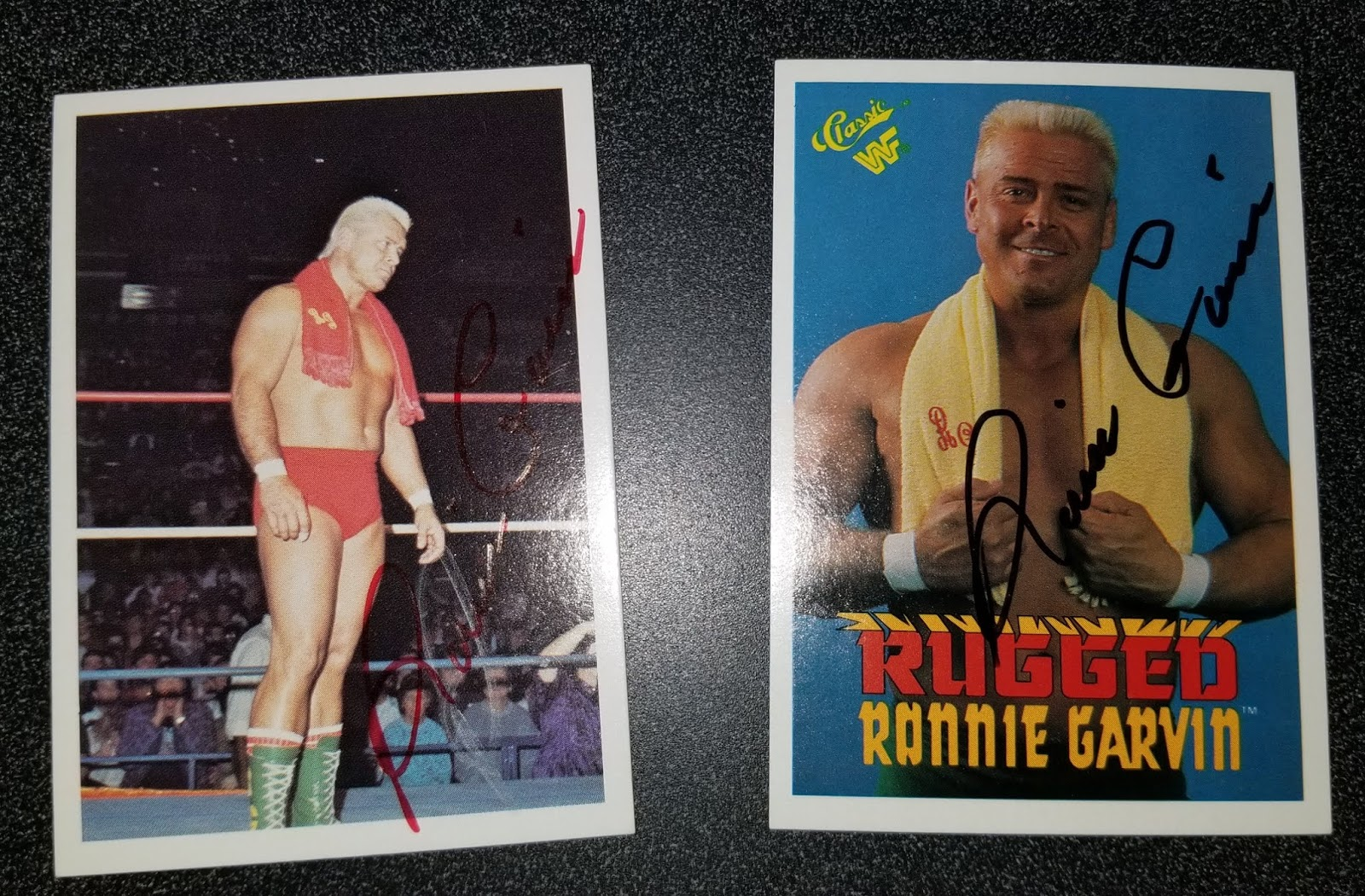 The Wrestling Insomniac: Signed Trading Cards: Barry Windham