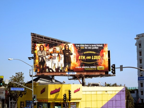 4th and Loud series launch billboard