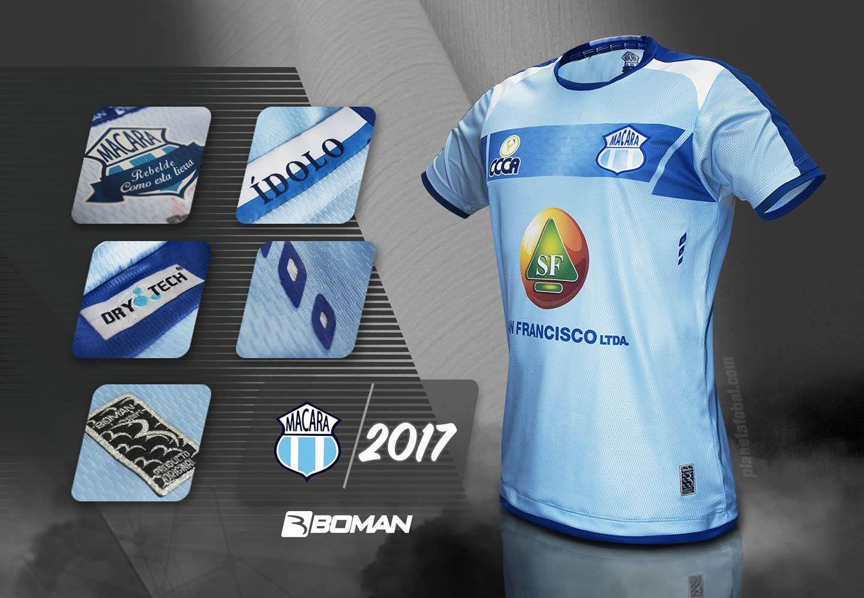 a5ed731dc2a85 Boman Sport lança as novas camisas do Macará. A fabricante de material  esportivo ...