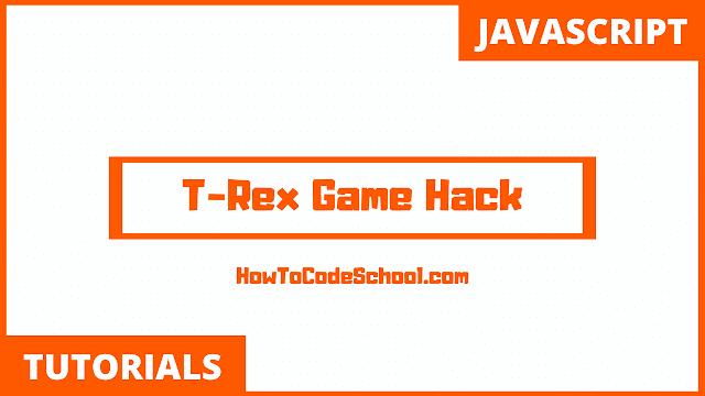T-Rex Game Hack