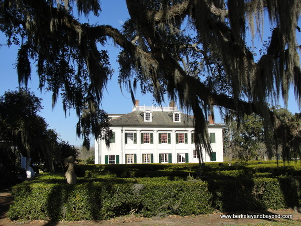 plantation house at Evergreen Plantation in Edgard, Louisiana