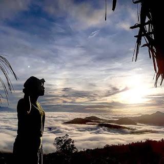 Sajian panorama bengkayang dari ketinggian