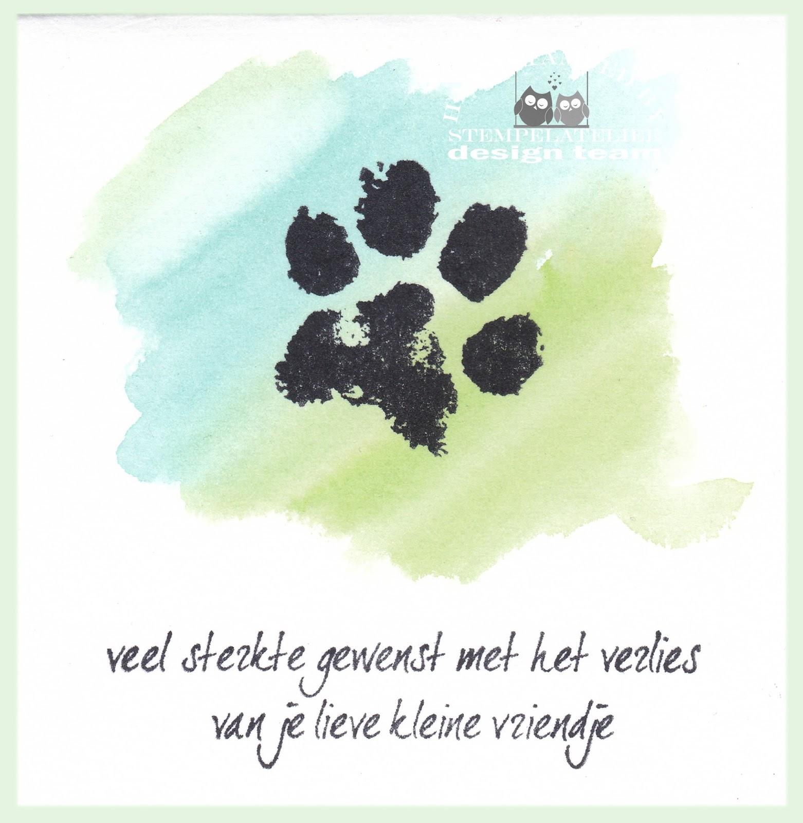 Top Inkerbell Stamps™ Design Team: Verlies huisdier VZ42