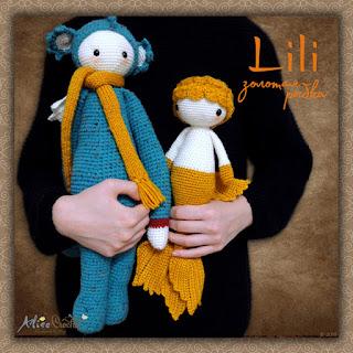 амигуруми кукла Bebeklikedi Золотая рыбка Lili и лалилала даркон Дирк