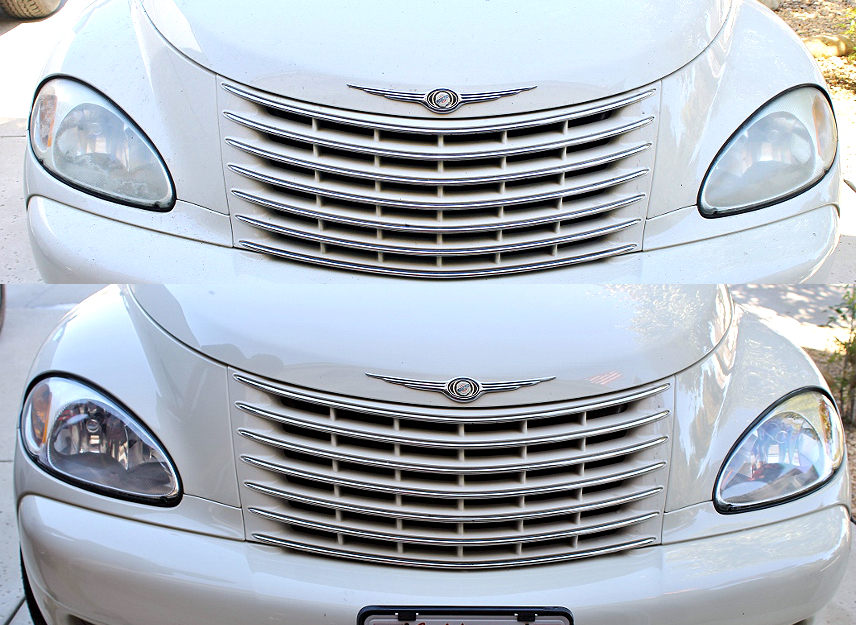 How to restore your headlights for about $20 in about an hour!