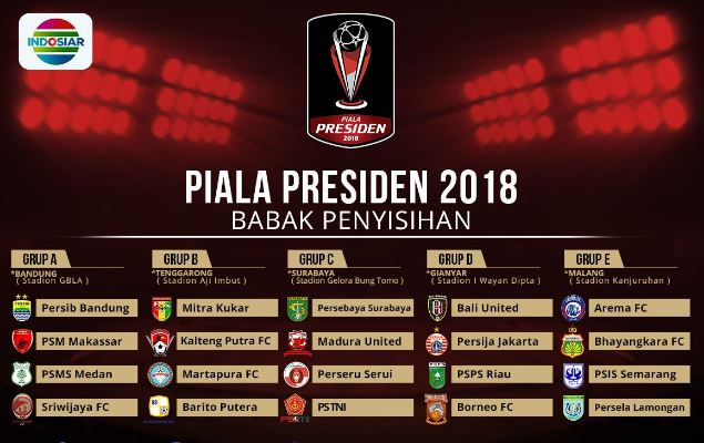 Demi Acara Dangdut, Indosiar Tak Siarkan Seluruh Pertandingan Piala Presiden 2018