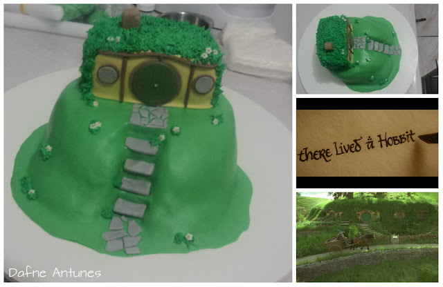 The Hobbit - The Lord of the Rings cake