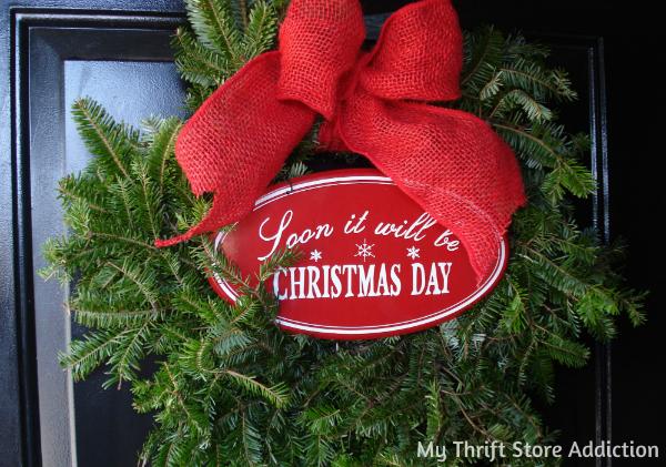 Black Friday sale fresh wreaths