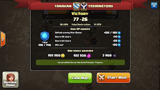 Clan TARAKAN vs TERMINETORS, TARAKAN Victory