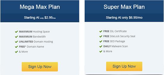 web hosting, hostmetro, pricing