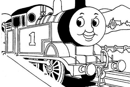 Gambar Mewarnai Thomas And Friend