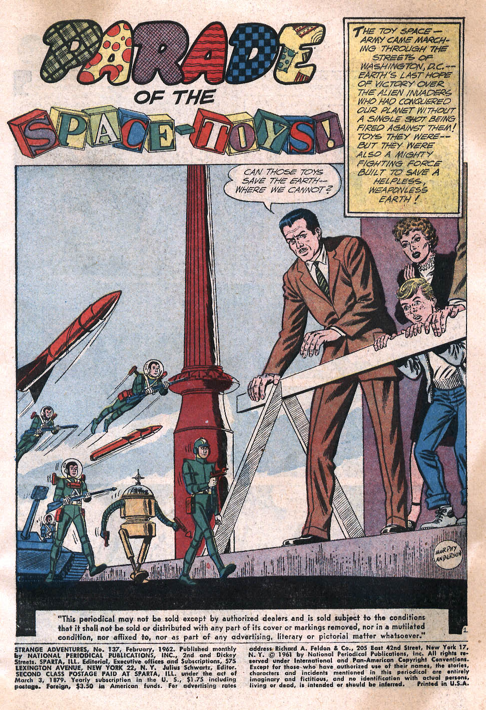 Strange Adventures (1950) issue 137 - Page 3