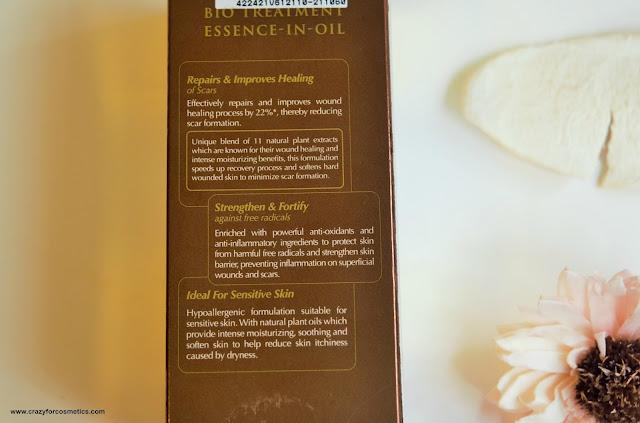 Bio Essence Bio Treatment Essence in Oil with essentials oils
