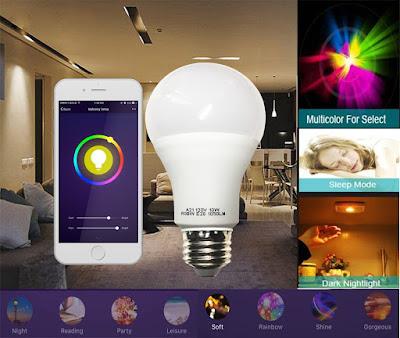 The Cxy smart WiFi light bulb