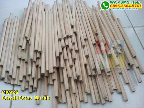 Harga Pensil Polos Murah