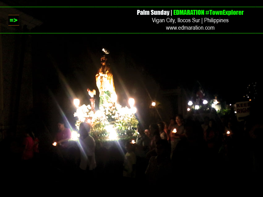 Palm Sunday (Domingo de Ramos) in Vigan